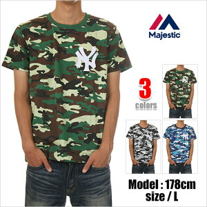 MAJESTIC マジェスティック Tシャツ 半袖 T-SHIRTS ニューヨーク・ヤンキース NEW YORK YANKEES...