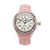 シャネル (CHANEL) J12 オートマティック ピンクサファイアベゼル 腕時計 H1337【レディース】 ピンク系