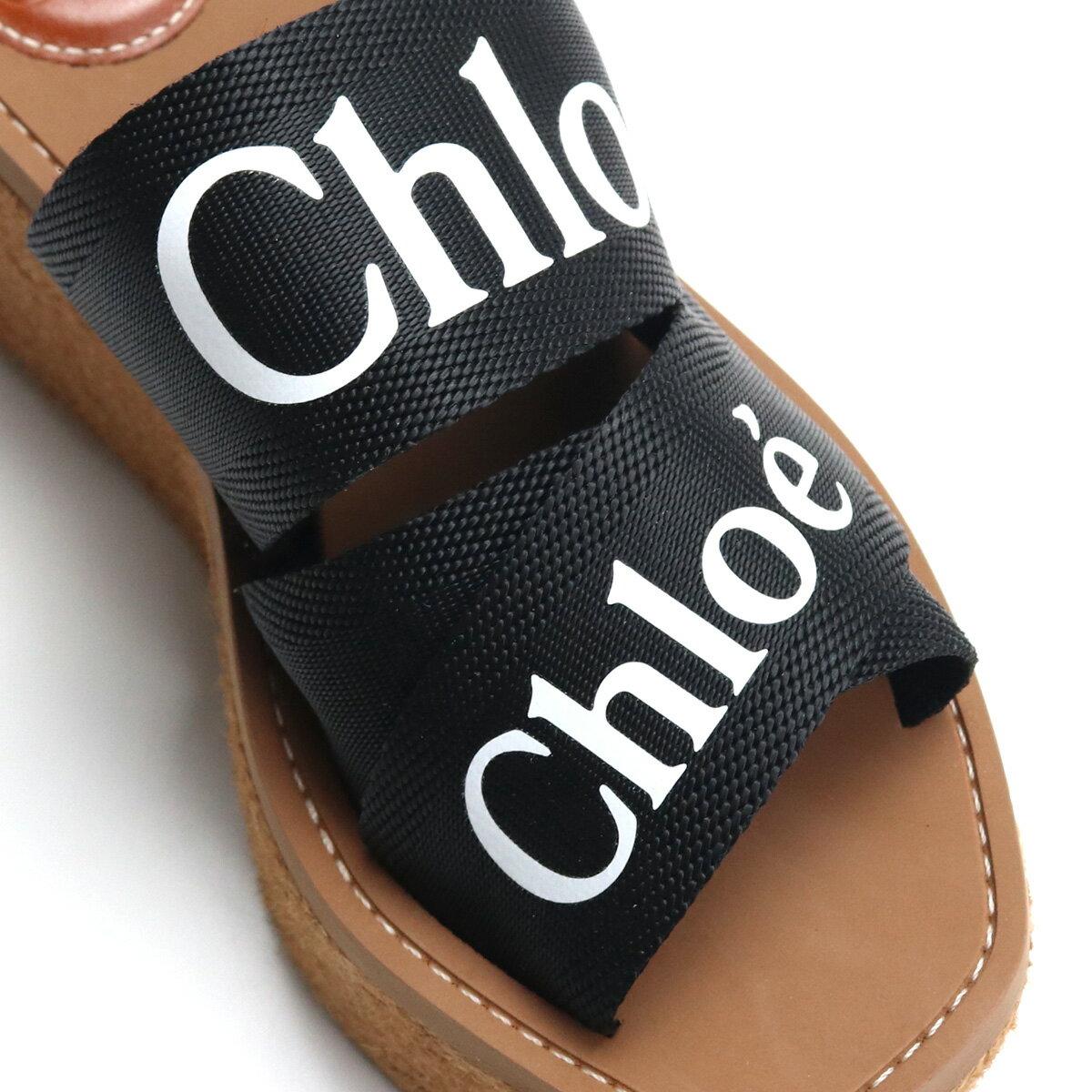 クロエCHLOEサンダルCHC21U44908001BLACKブラックshoes-01レディース