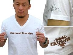 ダイヤモンドパウンダー (Diamond Pounder. )TシャツKW00008 ホワイト…