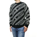 ジバンシー GIVENCHY ロゴ メンズ セーター ニット BM90EE 4Y6Q 004 ブラック ホワイト系 メンズ