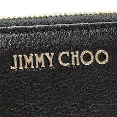 ジミーチュウ(JIMMYCHOO)ラウンドファスナー長財布PIPPA-GRZBLACKブラック【送料無料】【レディース】【カード分割】