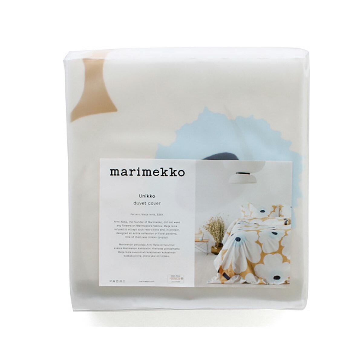 寝具, 掛け布団カバー  marimekko UNIKKO 69080 815