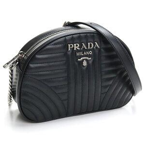 Prada PRADA Quilted Leather Diagonal Shoulder Bag 1BH147 2D91 V IOI F0633 NERO 2 Black Women