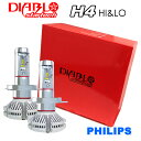 ハイゼット S200・210系/S500P・S510P・S32#系・LA700V・710V LEDバルブ H4 HiLo LEDヘッドライト ledバルブ 12000ルーメン PHILIPS