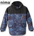 【1日限定10%OFFクーポン対象】大きいサイズ メンズ nima(ニーマ) スノーボードジャケット ネイビー 3L 5L...