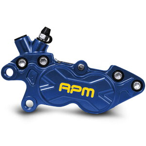 RPM:RACINGPROJECTMOTORCYCLEBK-4L-006CNCAxialP440mmピッチキャリパー左用【ブルー】TA-RPM-BC003BL【smtb-f】
