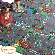ベルギー キッズラグ プレイグラウンド カーペット 子供部屋 プレイマット