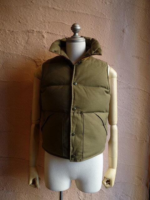メンズファッション, コート・ジャケット MR.FREEDOMSugarcaneMFSC OD BACK SATIN DOWN VESTSC13170MADE IN USA149 OLIVE
