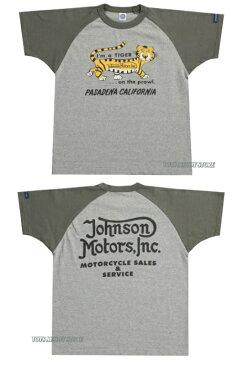 ★TOYS McCOY[トイズマッコイ]★★Johnson Motors,Inc.TEE SHIRT ジョンソンモータース