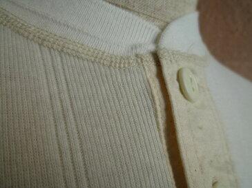 ★WHITESVILLEホワイツビル★S/S HENLEY T-SHIRT WV-74988フラットシーマ縫製ハリヌキヘンリーTシャツ105OFF