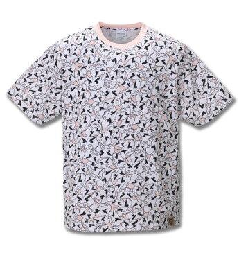 クレヨンしんちゃん 総柄プリント半袖Tシャツ 大きいサイズ メンズ ビッグサイズ メンズファッション 3L4L5L6L8L 大きいサイズの服 専門店 大きなサイズ ビックサイズ 超特大 綿100% おもしろ ユニーク キャラクター カワイイ セットアップ可