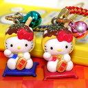 福を呼ぶ?まねき猫×タコヤキ!のコラボ!◆【ご当地キティ】大阪限定 たこやき招き猫キティ...