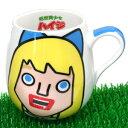日産ノートCMで話題!◇低燃費少女ハイジラウンドマグ(マグカップ)クララ HI-038