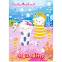 海中の人気者「ちんあなご」とキティがコラボ!◇ハローキティちんあなごキティ3Dクリアファイル
