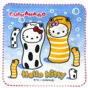海中の人気者「ちんあなご」とキティがコラボ!◇ハローキティちんあなごキティあぶら取りハンカチ