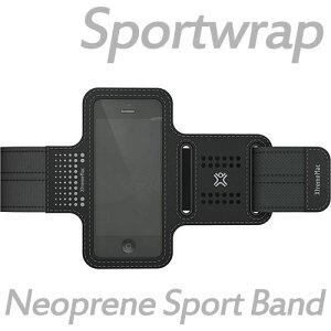 ◆ XtremeMac iPhone5C iPhone5S iPhone5 対応 iPhone・iPod touch 専用 スポーツアームバンド ケース / カバー Sportwrap ブラック IPT-SPN-13【楽ギフ_包装】【RCP】