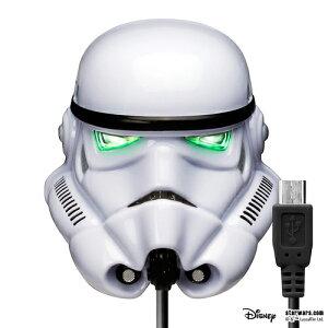 STARWARS micro USBコネクタAC充電器2A