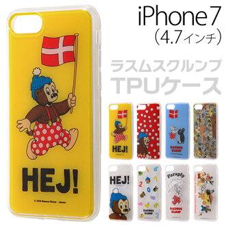 iPhone7 案例 TPU ☆ • 拉姆克倫普 iPhone7 (4.7 英寸)-僅智慧手機 TPU 主機殼後面板設置 IJ-JP7TP/RK 10P01Oct16。