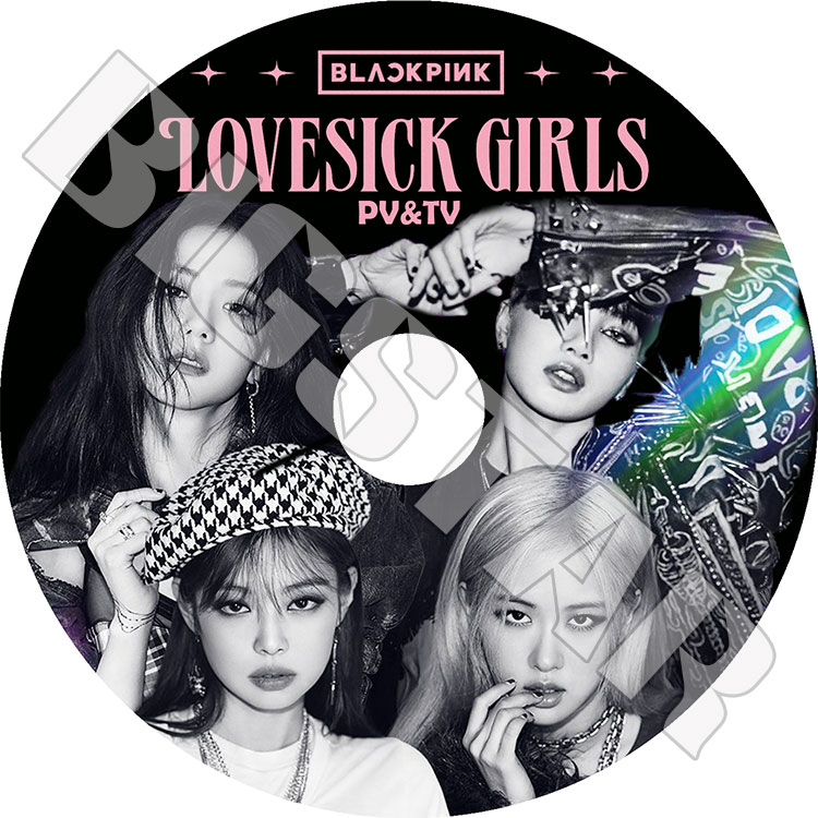 アジア・韓国, 韓国 K-POP DVDBlack Pink 2020 PVTV Lovesick Girls HOW YOU LIKE THAT ICE CREAM KPOP DVD