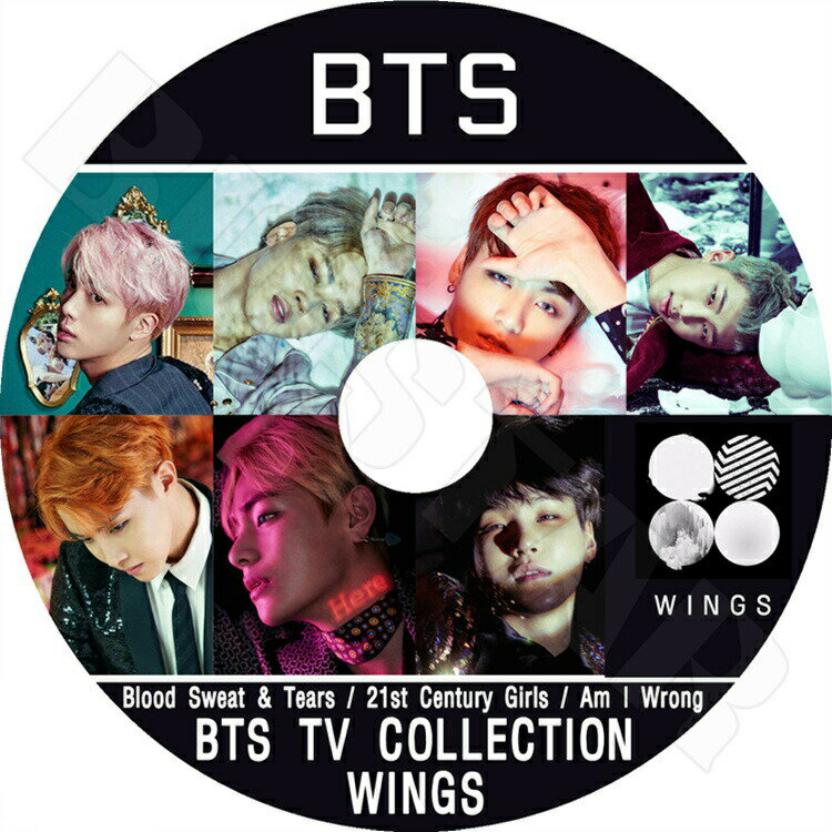 アジア・韓国, 韓国 K-POP DVD BTS Wings Album TV CollectionBlood Sweat Tears Am I Wrong 21st Century Girls KPOP DVD