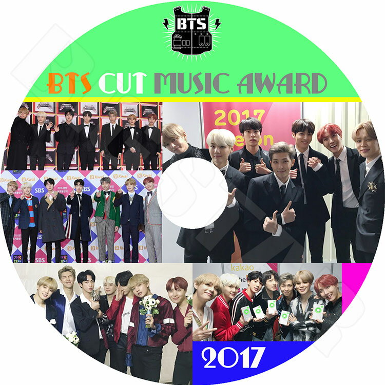 アジア・韓国, 韓国 K-POP DVDBTS 2017 MUSIC AWARD CUTMAMA KBS MBC SBS GDA Seoul Awards KPOP DVD