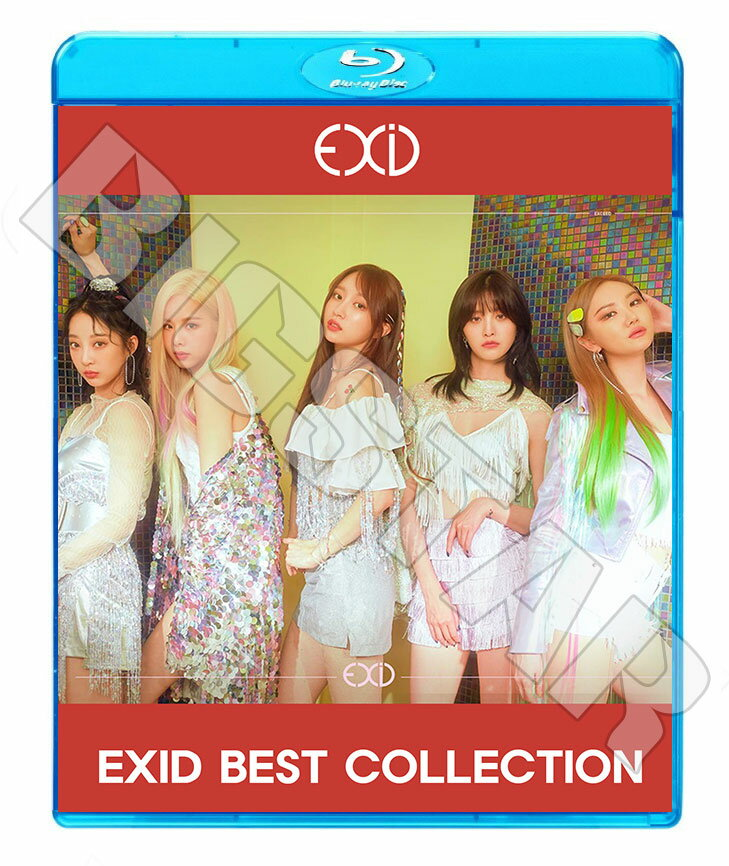 アジア・韓国, 韓国 Blu-rayEXID 2019 BEST COLLECTIONMeYou I Love You Lady DDD KPOP DVD2