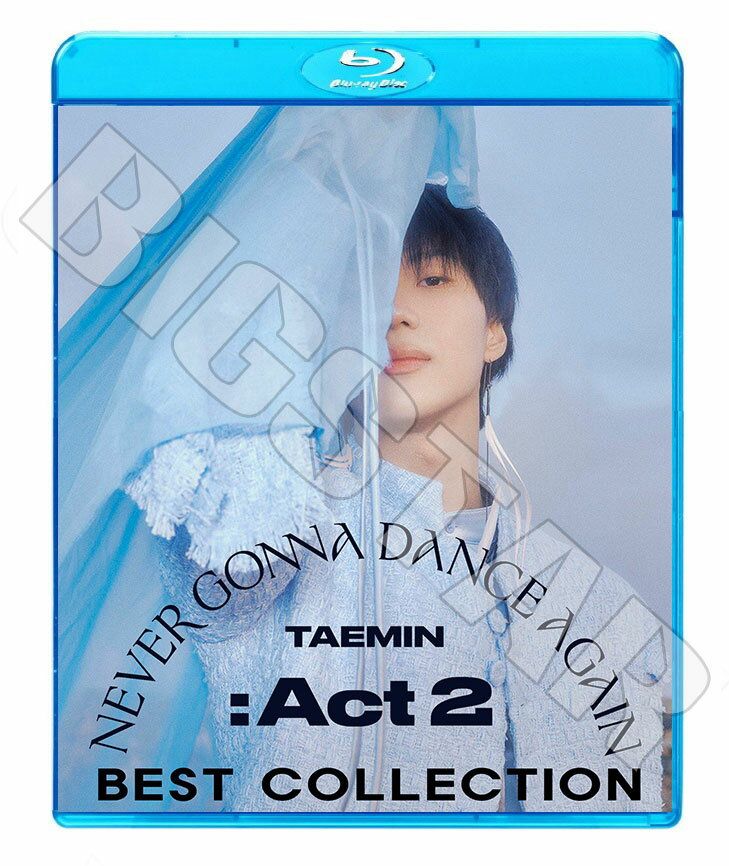 アジア・韓国, 韓国 Blu-rayTAEMIN 2020 BEST COLLECTIONIDEA Criminal 2Kids WANT Day And Night KPOP DVD2