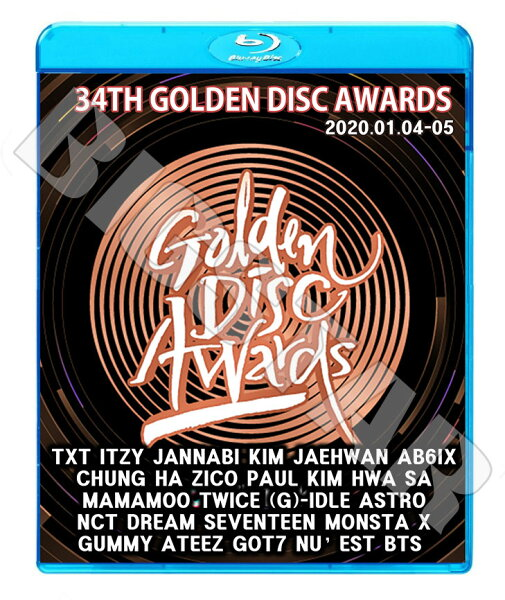 Blu-ray   34nd2020GoldenDiskAwards(2020.01.04-01.05) BTSTWICESE