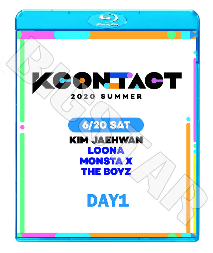 アジア・韓国, 韓国 Blu-rayKCONTACT 2020 SUMMER DAY 1 (2020.06.20)MONSTA X THE BOYZ KIM JAE HWAN LOONA LIVE KPOP DVD2