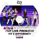 【K-POP DVD】☆★ITZY LIVE PREMIERE(2019.02.12)★IT`Z DIFFERENT【日本語字幕あり】【イッジ イェジ リア リュジン チェリョン ユナ KPOP DVD】