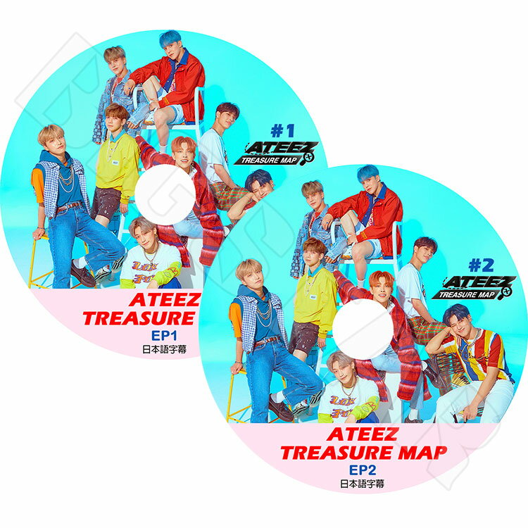 韓国(K-POP)・アジア, その他 K-POP DVDATEEZ TREASURE MAP (2SET) KPOP DVD