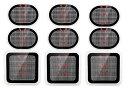 非純正品ジェルパッド シート 取り替え ぱっど 9枚セット(3枚x3個セット) for スレンダートーン用腹筋用パッド・対応交換用パッド/フィギュラ/フレックス/ジムボディ/MAX/ジェルパッド/システムプラス