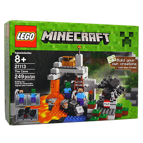 ブロック, セット LEGO The Cave 21113Sa