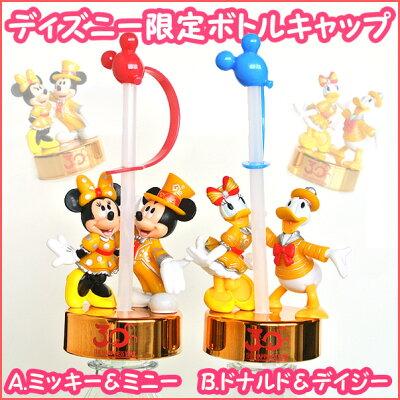 ディズニーランド限定 ミッキー&ミニー/ドナルド&デイジー ペットボトル ストロー(ペットボ...