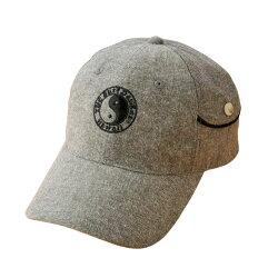 ※お取り寄せ商品です【T&Cサーフデザインズ 杢調ポケット付キャップ(全2色) 帽子 メンズ 紳士 シニア タウカン タウン&カントリー サックスブルー グレー】p18010