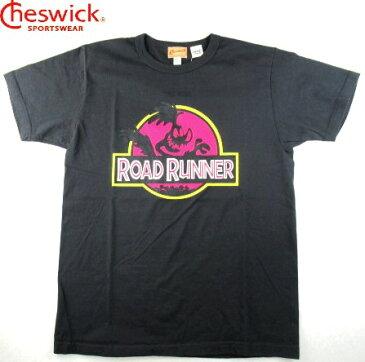 "【 CHESWICK 】【 チェスウィック 】【送料無料!!】 【ゆうパケット送付商品】CHESWICK ROAD RUNNER SHORT SLEEVE T-SHIRT MADE IN USA ""DINOSAURIC RR"" チェスウィック ロードランナー 半袖 Tシャツ USA製 CH78494"