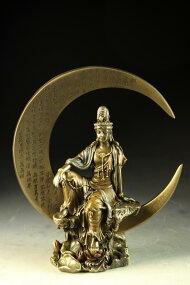 仏教美術◇最上◇月光菩薩像◇薬師三尊