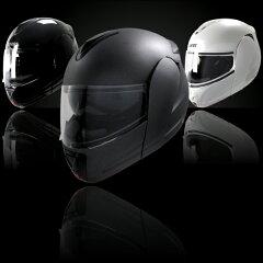【クレスト】インナーバイザー付きフリップアップシステムヘルメット アルファ ALPHA