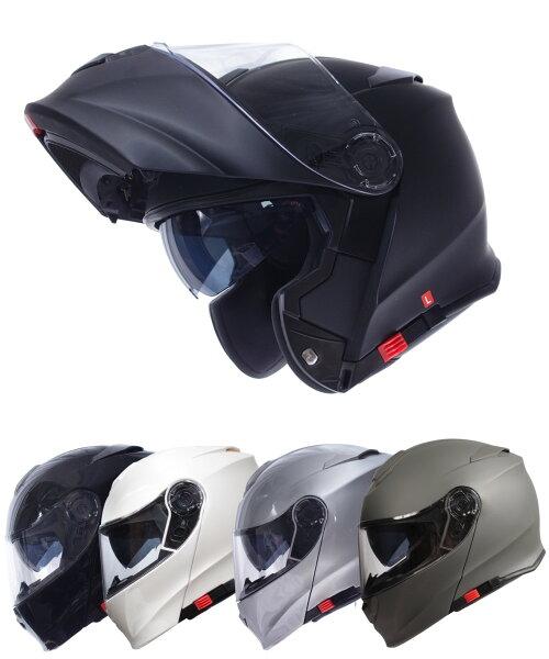 今だけマスクプレゼント  インナーバイザー付きフリップアップシステムフルフェイスヘルメットSG/PSCマーク付きアルファ2AL