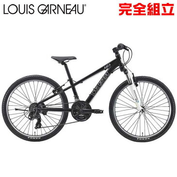 ルイガノ J24 LG BLACK 24インチ 子供用自転車 LOUIS GARNEAU J24