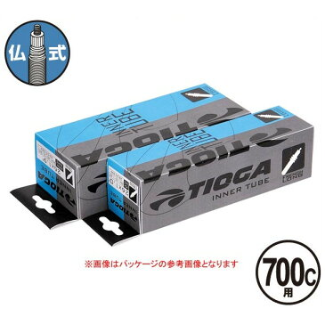 TIOGA(タイオガ) インナー チューブ 仏式 700C/Inner Tube (French Valve) [TIT114]【700C/700C】【ロード用/クロスバイク用】【仏式バルブ口】【自転車用】【チューブ】