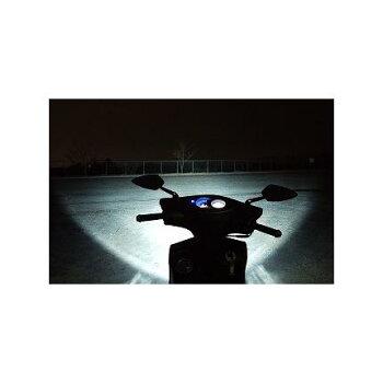 魚眼ヘッドライトH7HI/LOメッキAC-107ATLAS(アトラス)シグナスX(CYGNUS-X)送料無料