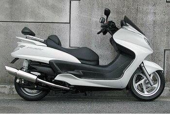 グランドマジェスティ400(O2センサー装着モデル)STタイプマフラーASAKURA(浅倉商事)