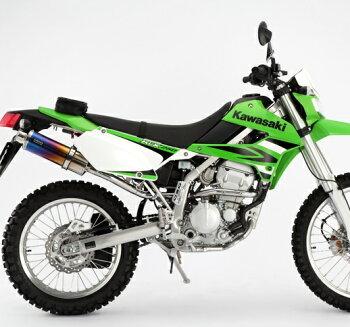 KLX250(BK-LX250S)SS300チタンマフラーアップタイプスリップオンBEAMS(ビームス)