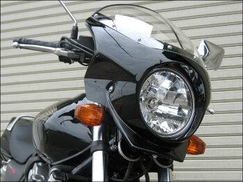 CB400SFVTECRevo(08年~)ロードコメット2スモークスクリーンパールフラッシュイエロー(Y-163P)通常スクリーンCHICDESIGN(シックデザイン)
