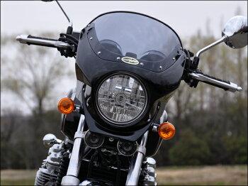 CB1100/EX(14年~)ロードコメット2スモークスクリーンダークネスブラックメタリック(単色)(NH-463M)通常スクリーンCHICDESIGN(シックデザイン)