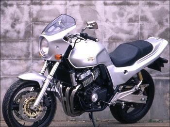 CB400SF・Ver.S(92~98年)ロードコメットスモークスクリーンパールクリスタルホワイト(NH-193P)通常スクリーンCHICDESIGN(シックデザイン)