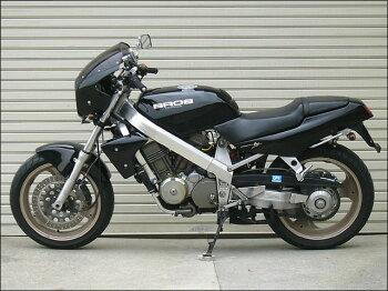 ブロス400・650(BROS)88~91年ロードコメットスモークスクリーンブラックZ(NH-1)通常スクリーンCHICDESIGN(シックデザイン)