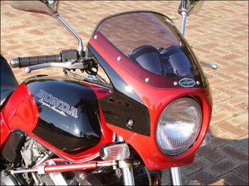 ジェイド・S(JADE)91~95年ロードコメットクリアスクリーングラニットブルーメタリック単色(PB-184)エアロスクリーンCHICDESIGN(シックデザイン)